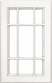 """Фасады под стекло """"Афина аргенто"""" (с решеткой)"""