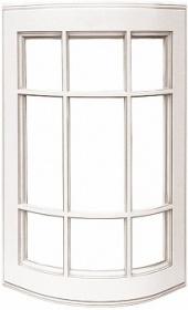 "Фасады закруглённые под стекло ""Афина аргенто"""