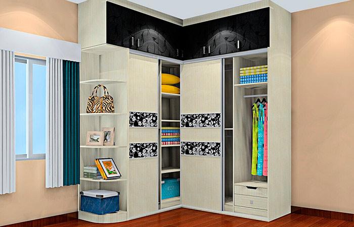 шкафы купе в спальню в фото угловые и встроенные шкафы купе в