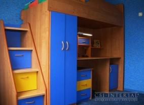 Заказать универсальную стенку в детскую комнату