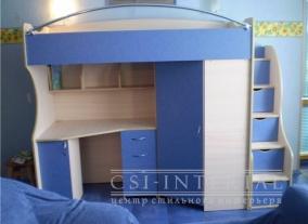 Кровать-чердак для детской по доступной цене